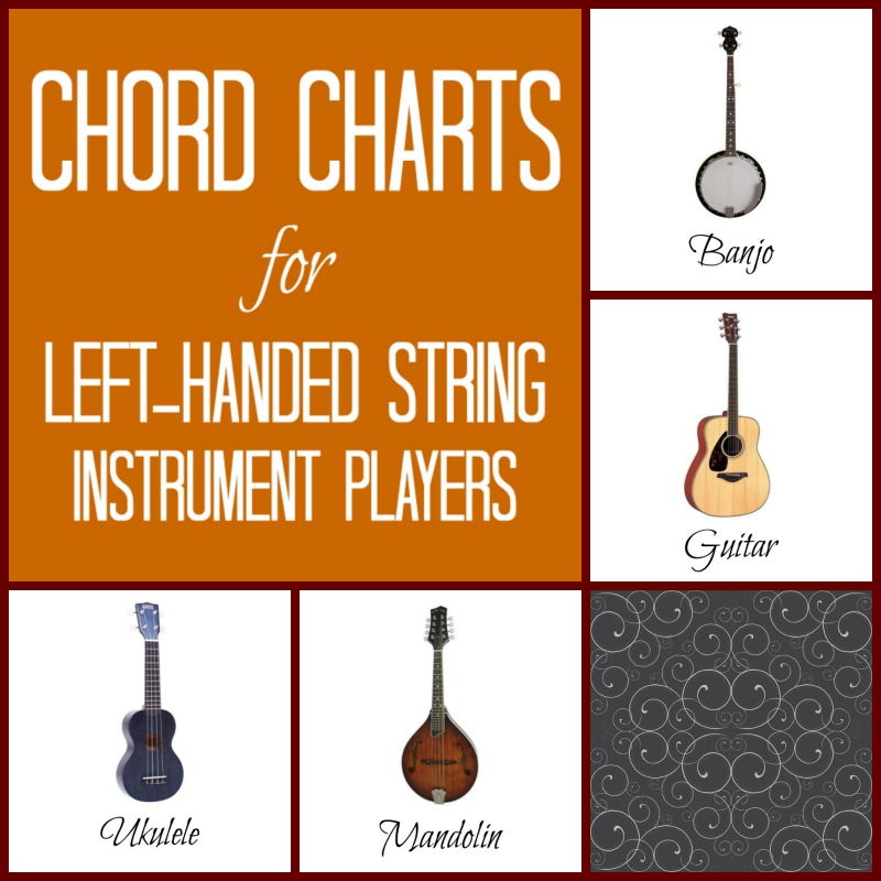 Left Hand Chord Charts