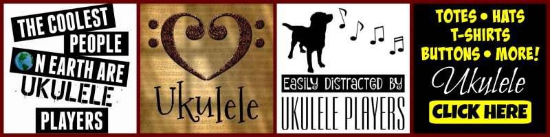 Ukulele Player Gifts Shirts Mugs Totes Music Accessories